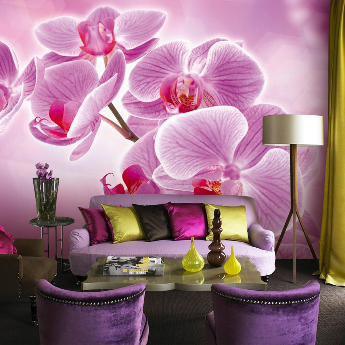 Орхидеи в дизайне интерьера